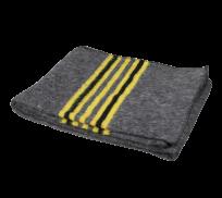 Verhuisdeken Mattral - Geel zwarte streep